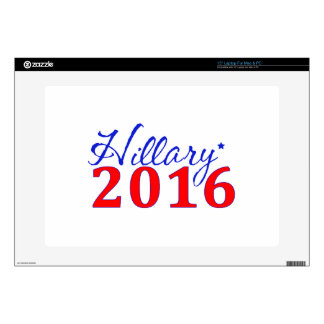 """Hillary Clinton 2016 Skins For 15"""" Laptops"""