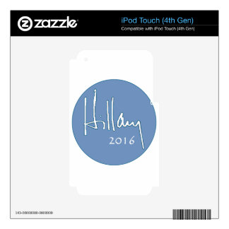 Hillary Clinton 2016 Skin For iPod Touch 4G