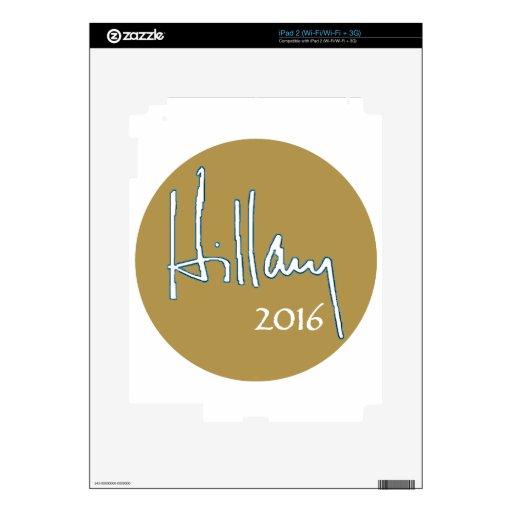 Hillary Clinton 2016 Skins Para eliPad 2
