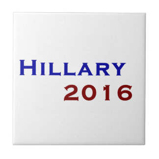 Hillary Clinton 2016 Small Square Tile