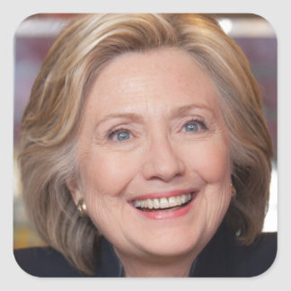 Hillary Clinton 2016 Square Sticker