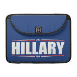 Hillary Clinton 2016 (Stars & Stripes - Blue) MacBook Pro Sleeves