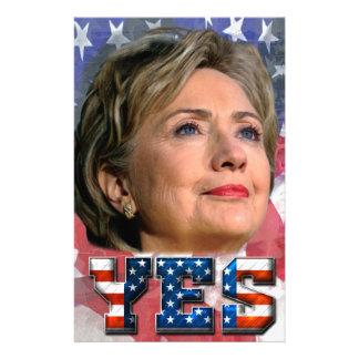 Hillary Clinton 2016 Stationery
