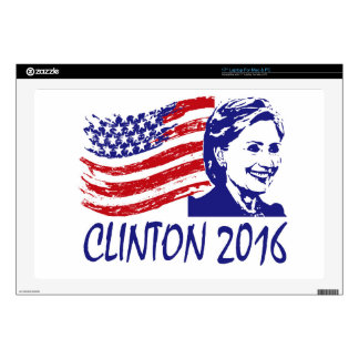 Hillary Clinton 2016 Support Items Laptop Skins