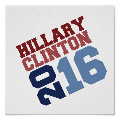 HILLARY CLINTON 2016 SWAY.png Poster