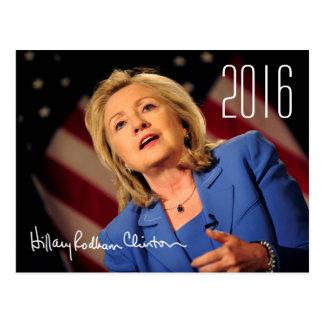Hillary Clinton 2016 Postales