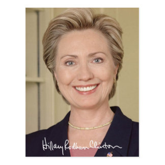 Hillary Clinton 2016 Tarjetas Postales