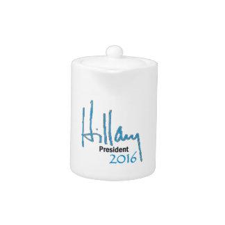 Hillary Clinton 2016 Teapot
