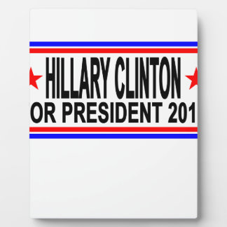 Hillary Clinton 2016 Tee Shirts.png Plaques