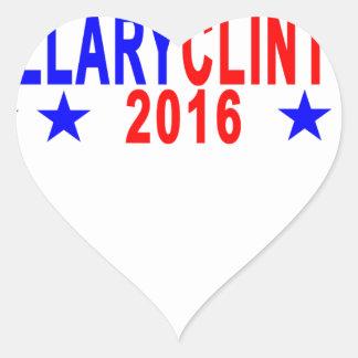 Hillary Clinton 2016 Tee Shirts ; '.png Heart Sticker