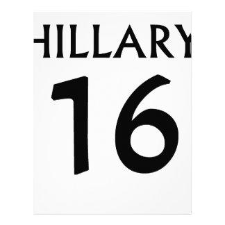 Hillary Clinton 2016 tees.png Membrete Personalizado