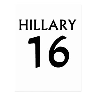 Hillary clinton 2016 tees.png postcard