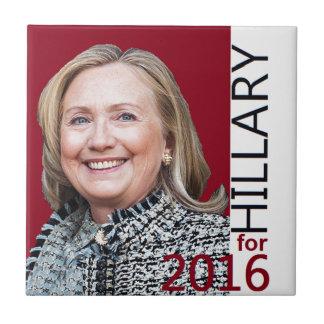 Hillary Clinton 2016 Tile
