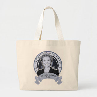 Hillary Clinton 2016 tote bag.