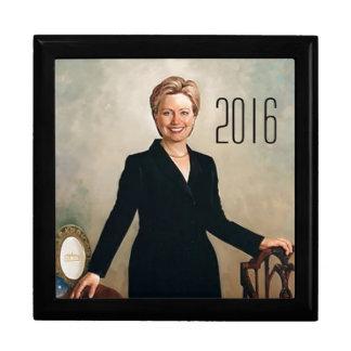 Hillary Clinton 2016 Trinket Boxes