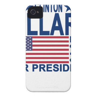HILLARY CLINTON 2016 Tshirts.png Case-Mate iPhone 4 Case
