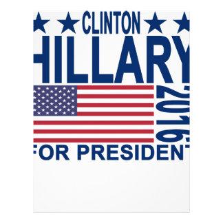 HILLARY CLINTON 2016 Tshirts.png Letterhead