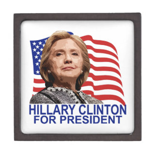 HILLARY CLINTON 2016 Tshirts ;'.png Premium Gift Box