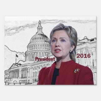 Hillary Clinton 2016 Yard Signs