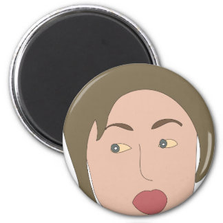 Hillary Clinton 2 Inch Round Magnet