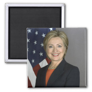 Hillary Clinton 2 Inch Square Magnet