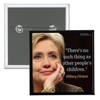 Hillary Clinton & All Children Quote Button