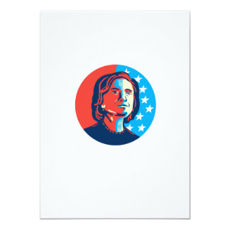 Hillary Clinton American Elections 4.5x6.25 Paper Invitation Card