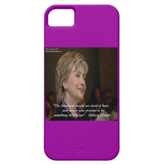 Hillary Clinton Angry Americans Quote iPhone5 Case