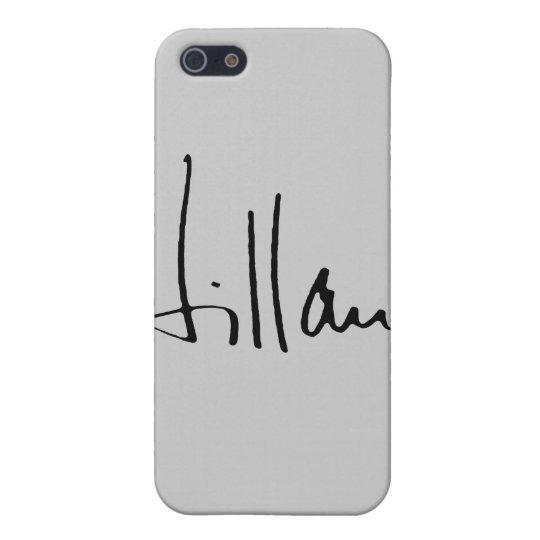 HILLARY CLINTON AUTOGRAPH.png iPhone 5 Carcasa