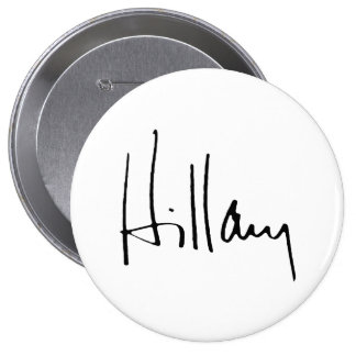 HILLARY CLINTON AUTOGRAPH.png Pin