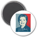 HILLARY CLINTON AUTOGRAPHED SIGN.png Fridge Magnets
