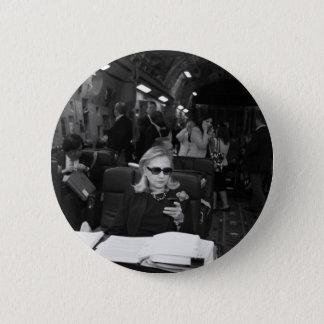 Hillary Clinton Being A Boss Button