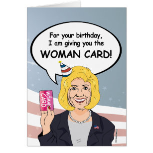 Funny Hillary Clinton Birthday Cards Greeting Photo Cards Zazzle