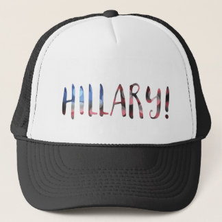 Hillary Clinton bokeh Trucker Hat