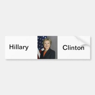 Hillary Clinton Car Bumper Sticker