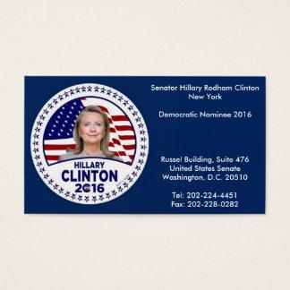 Hillary Clinton Business Cards