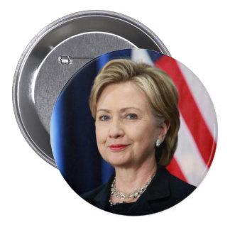 Hillary Clinton 3 Inch Round Button