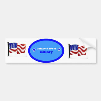 Hillary Clinton Bymber Sticker