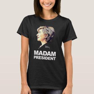 """Hillary Clinton camisa de """"señora presidente"""""""