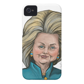 Hillary Clinton Caricature iPhone 4 Cover