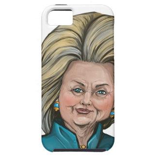 Hillary Clinton Caricature iPhone SE/5/5s Case