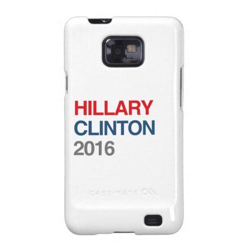 HILLARY CLINTON CONSEGUIDA 2016.png Samsung Galaxy S2 Carcasa