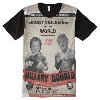 Hillary Clinton contra el boxeo del vintage de