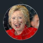 """Hillary Clinton Dart Board<br><div class=""""desc"""">Hillary Clinton Dartboard.</div>"""