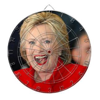 Hillary Clinton Dart Board