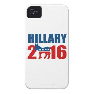 HILLARY CLINTON DEMOCRAT 2016.png iPhone 4 Cover