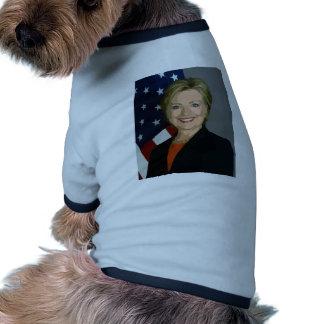 hillary clinton pet tee shirt