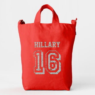 Hillary Clinton Duck Bag