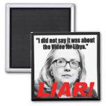 ¡Hillary Clinton el mentiroso! Iman