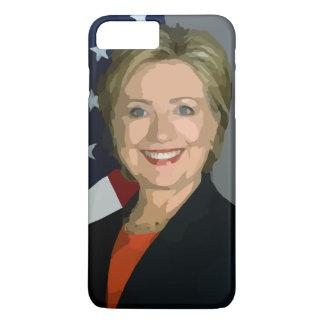 Hillary Clinton election 2016 iPhone 7 Plus, Tough iPhone 8 Plus/7 Plus Case